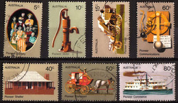 Australia - #532-38(7) - Used - 1966-79 Elizabeth II