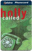 Australia - Telstra (Chip) - N Series 1997 Christmas - Holly Called - Exp. 01.2000, 5$, 88.500ex, Mint - Australia