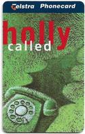 Australia - Telstra (Chip) - L Series 1997 Christmas - Holly Called - Exp. 01.2000, 5$, 1.500ex, Mint - Australia