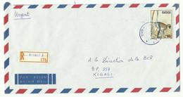 Lettre Recommandée De KIGALI 1989 Vers Kigali - 16167 - Autres