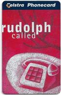 Australia - Telstra (Chip) - L Series 1997 Christmas - Rudolph Called - Exp. 08.1999, 5$, 1.500ex, Mint - Australia