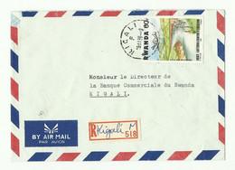 Lettre Recommandée De KIGALI 1986 Vers Kigali - 16168 - Autres