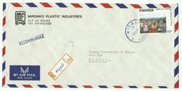 Lettre Recommandée De KIGALI (mironko) 1989 Vers Kigali - 16169 - Autres