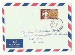 SCOUT Lettre Recommandée De KIGALI 1983 Vers Kigali - 16170 - Autres