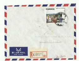 Lettre Recommandée De KIGALI 1988 Vers Kigali - 16177 - Autres