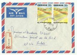 Lettre Recommandée De KIBUYE Du 29-11-1983 Vers Kigali - 16178 - Autres