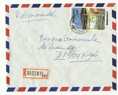 Lettre Recommandée De GISENYI Vers Kigali - 16180 - Sonstige