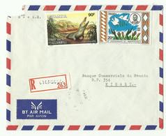 Lettre Recommandée De CYANGUGU Vers Kigali - 16182 - Autres