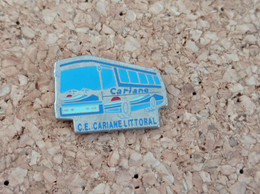 PINS TRANSPORT AUTOBUS BUS CARIANE LITTORAL - Trasporti