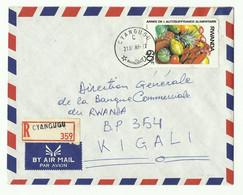 Lettre Recommandée De CYANGUGU Vers Kigali - 16184 - Autres