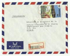 Lettre Recommandée De BUTARE Vers Kigali - 16185 - Autres