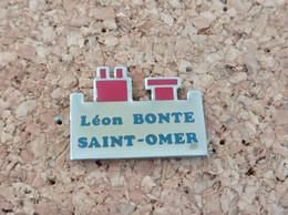 PINS LEON BONTE SAINT OMER (62) - Pin's