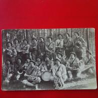 CARTE PHOTO MEMEL FANFARE DU 21 BCP 1921 - Litauen