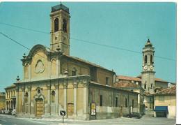 Dorno Lomellina (Pavia) Chiesa Di San Rocco, Sul Fondo Campanile Chiesa Parrocchiale - Pavia