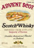 Etiquette  ADVENT SCOT Scotch Whisky - Whisky