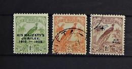 09 - 20 - Territory Of New Guinéa - 3 Stamps - Papua-Neuguinea