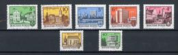 HONGRIE: - VILLES - N° Yvert 2411+2412+2423+2443+2652+2682+2728 Obli - Used Stamps