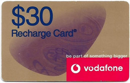 Australia - Vodafone - Be Part Of Something Bigger, Exp.31.12.2003, GSM Refill 30$, Used - Australia