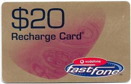 Australia - Vodafone - Fastfone, Exp.30.06.2003, GSM Refill 20$, Used - Australia