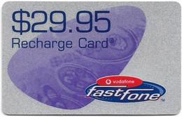 Australia - Vodafone - Fastfone, Exp.31.12.2002, GSM Refill 29.95$, Used - Australia