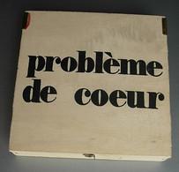 Coffret Vintage Jeu Casse Tête Puzzle Problème De Coeur Années 1960 - 1970 - Rompicapo