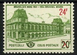 België TR373 ** - Postpakketzegel Met Opdruk Van Nieuwe Waarde - Ferrocarril