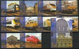 België TRV18/28 ** - Moderne Spoorweg - Chemins De Fer
