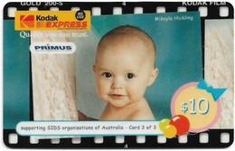 Australia - Primus - Kodak Express 3-3, Babies, Exp.09.1999, GSM Refill 10$, Used - Australia