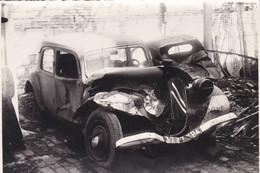Ham (Somme) Usine Cuivre Et Alliage Sabotée Résistance Française 43 AS (photo 18x12 Prise 44) Citroen Traction Décombre - Non Classificati