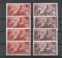 ESPAÑA   EDIFIL  1326/27   ( 4 SERIES)   MNH  ** - 1931-Hoy: 2ª República - ... Juan Carlos I