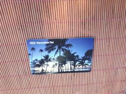 Prepaidcard Hawai GTE Tropical Sunset Used 2 Scans  Rare - Hawaii