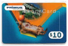 Australia - Primus - Australian Cities Puzzle Piece #?, Perth, Remote Mem. 10$, NSB - Australia