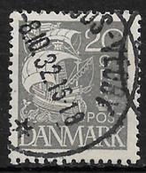 Denmark 1927. Scott #193 (U) Caravel - Usati