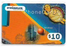 Australia - Primus - Australian Cities Puzzle #?, Brisbane, Remote Mem. 10$, NSB - Australia