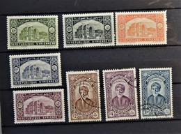 09 - 20 - Syrie 1934 - N° 226 à 230 * - MH - Et N° 233 - 235 - 239 Oblitéré - Syrie (1919-1945)