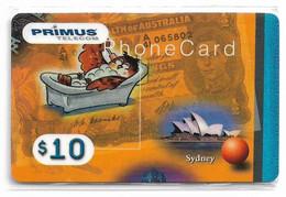 Australia - Primus - Australian Cities Puzzle #?, Sydney, Remote Mem. 10$, NSB - Australia