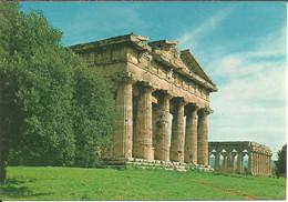 Paestum (Salerno) Scorcio Tempio Di Nettuno, Temple De Neptune, Neptune's Temple - Salerno