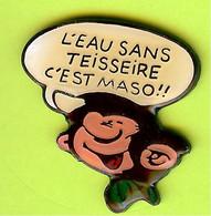 Pin's BD Gaston Lagaffe L'Eau Sans Teisseire C'Est Maso!! (Phylactère) - 6D11 - Fumetti
