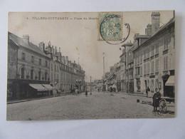 Villers-Cotterets (Aisne) N°4 - Place Du Marché - Carte Animée, Circulée En 1907 - Villers Cotterets
