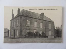 Brezolles (Eure-et-Loir) - Maison Huc, Route De Tillières - Carte Non-circulée - Francia
