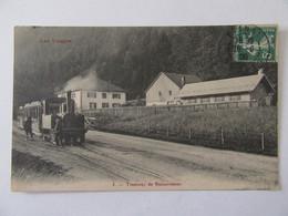 Vosges N°5 - Tramway De Retournemer - Carte Animée, Circulée En 1908 - Francia