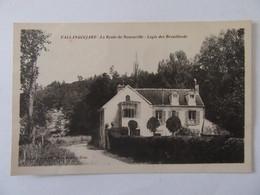 Vallangoujard (Val D'Oise) - La Route De Menouville - Logis Des Brouillards - Carte Non-circulée - Francia