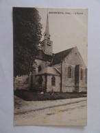 Courteuil (Oise) - L'Eglise - Carte Datée 1931, Animée (enfants) - Sonstige Gemeinden