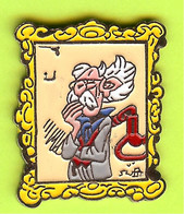 Pin's BD Le Comte De Champignac Cadre (Spirou) - 6D12 - Fumetti