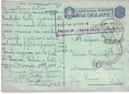 CARTOLINA POSTALE PER LE FORZE ARMATE  POSTA MILITARE N°20 - Zonder Portkosten