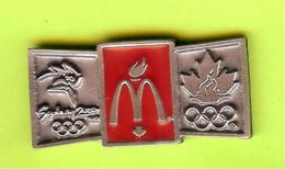 Pin's Mac Do McDonald's Canada JO Jeux Olympiques Australie 2000 - 6D14 - McDonald's