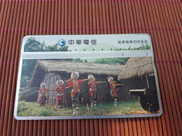 Landis & Gyr Phonecard Taiwan 792 H Used  Rare - Taiwán (Formosa)