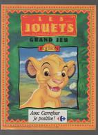 (jouets) Catalogue Noël 1994 CARREFOUR  (CAT2020) - Pubblicitari