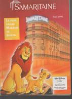 (jouets) Catalogue Noël 1994 LA SAMARITAINE   (CAT2023) - Pubblicitari