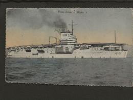 "Bateau De Guerre /  Porte Avion "" Béarn "" - Guerra"